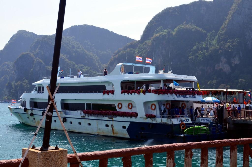 Ini kapal yg membawa kami: Sea Angel Cruise
