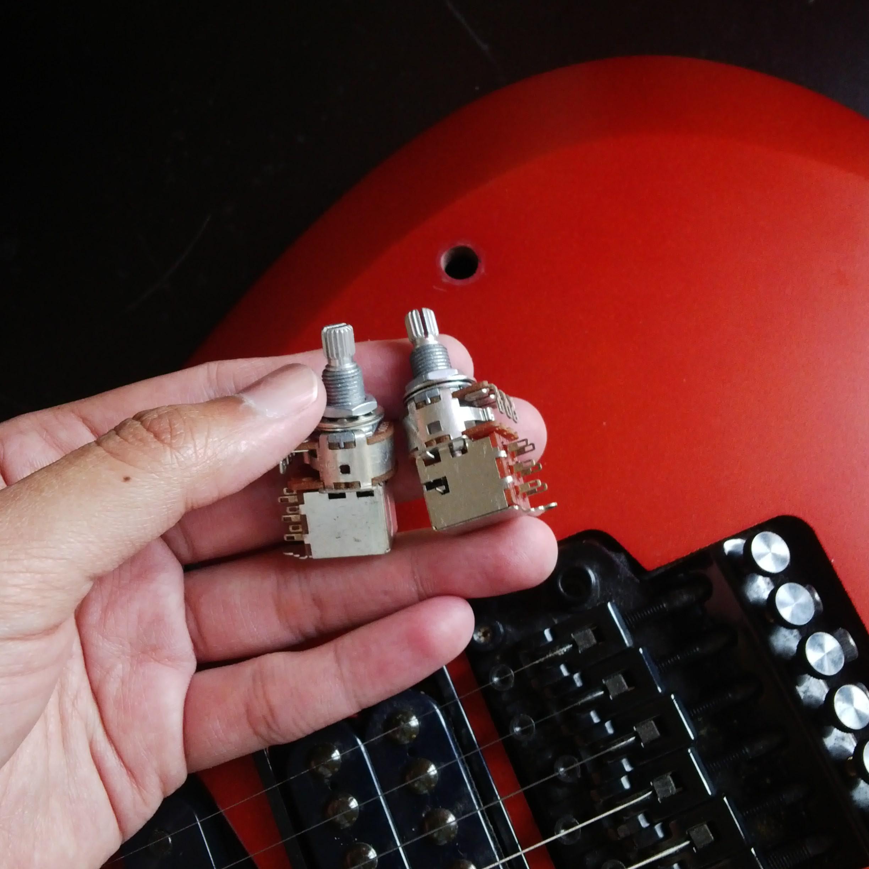 Mengganti Potensiometer Tone Push Pull Gitar Emanuel Setio Dewo